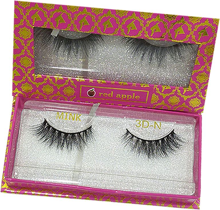 Natural Eyelashes 3D by Red Apple - N