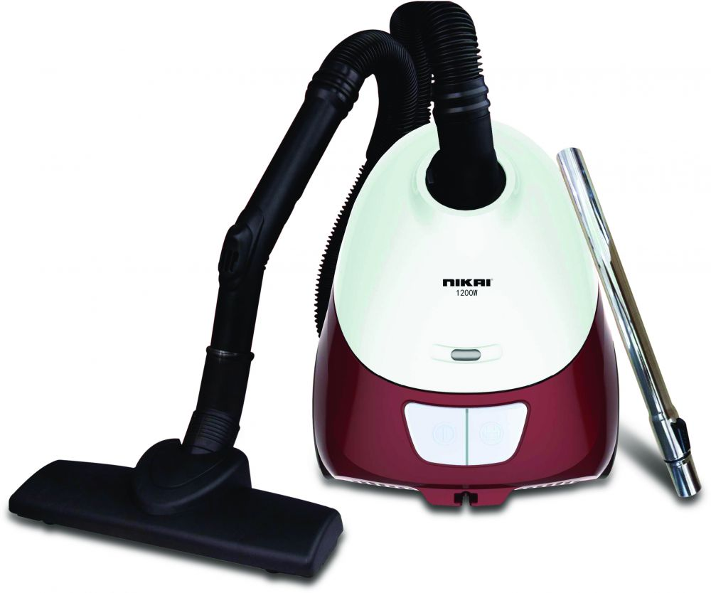Nikai Canister Vacuum Cleaner, 1.2 Liter, 1400 Watt - NVC2302A1