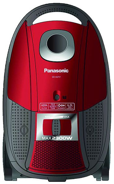 Panasonic MC-CG717 Canister Vacuum Cleaner Red