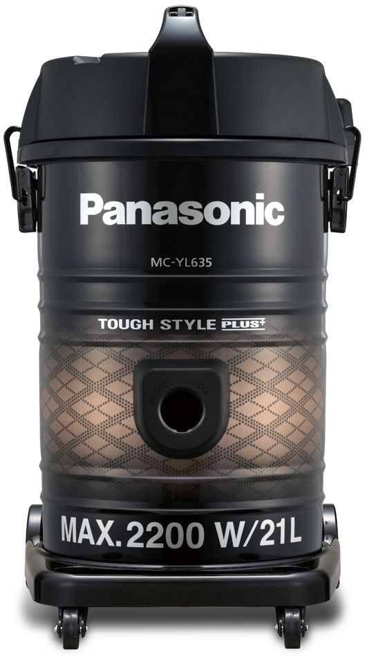 Panasonic MC-YL635T747 Electric Vacuum Cleaner , 2200W , Black