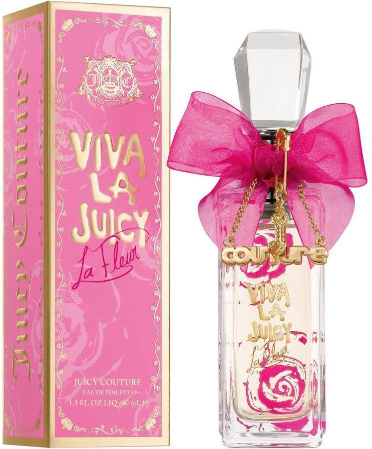 Perfume Viva La Juicy La Fleur by Juicy Couture for Women - Eau de Toilette , 40ml