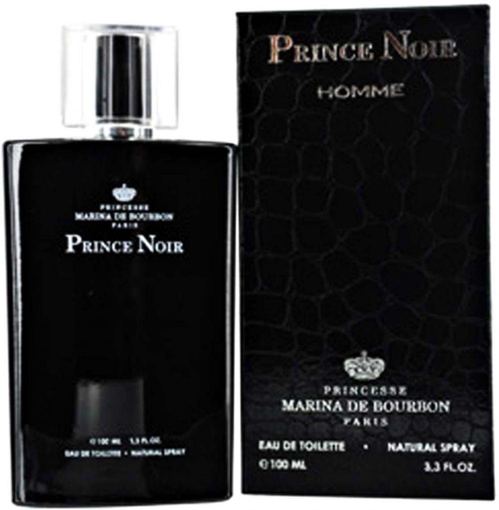 Prince Noir by Princesse Marina De Bourbon for Men - Eau de Toilette, 100ml