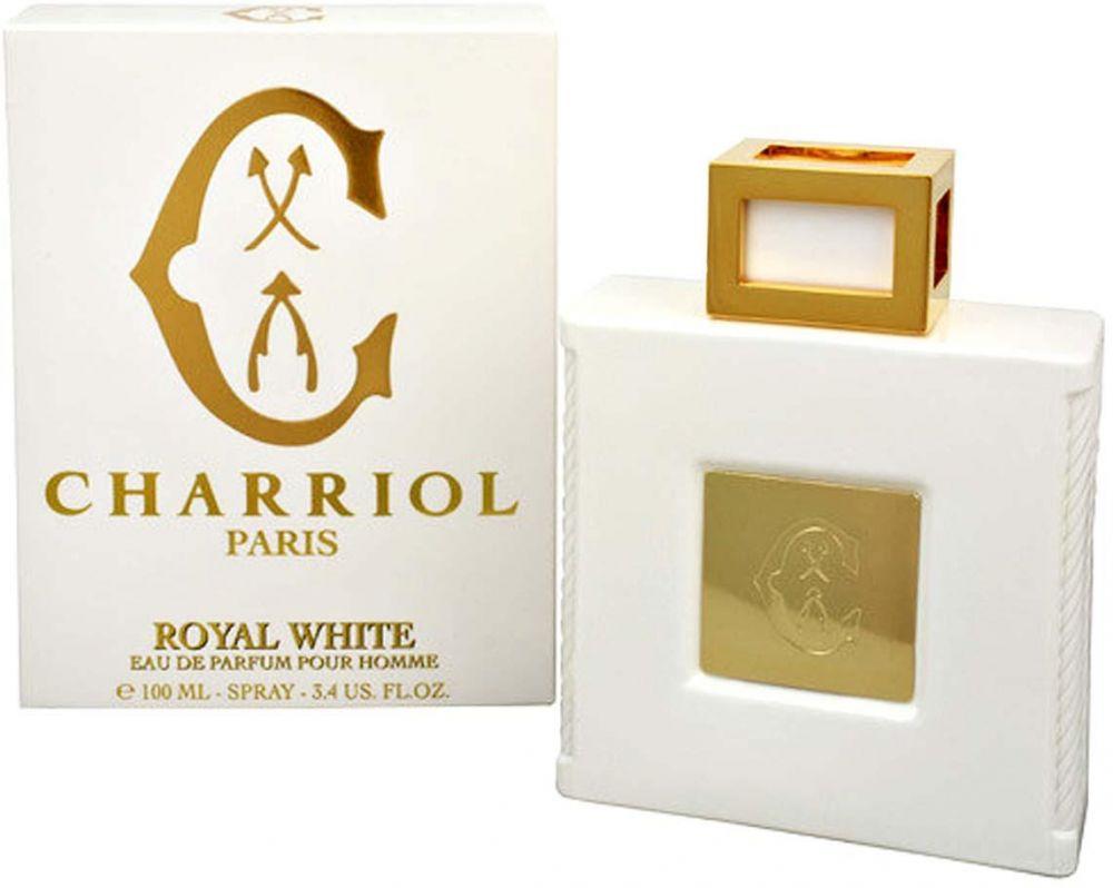 Royal White by Charriol for Men - Eau de Parfum, 100ml
