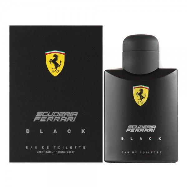 Scuderia Ferrari Black By Ferrari For Men - Eau De Toilette , 200Ml