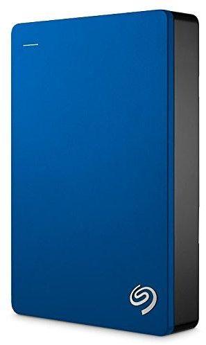 Seagate Backup Plus 5TB Portable External Hard Drive USB 3.0, Blue (STDR5000102)