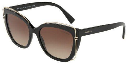 Tiffany & Co. Sunglasses , Square , for Women , Brown , 0Tf4148 80013B 54