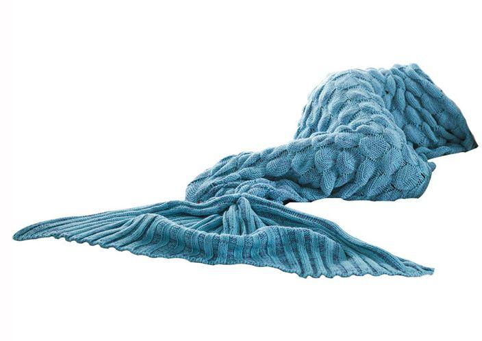 حورية البحر ذيل غطاء النوم بطانية للنساء