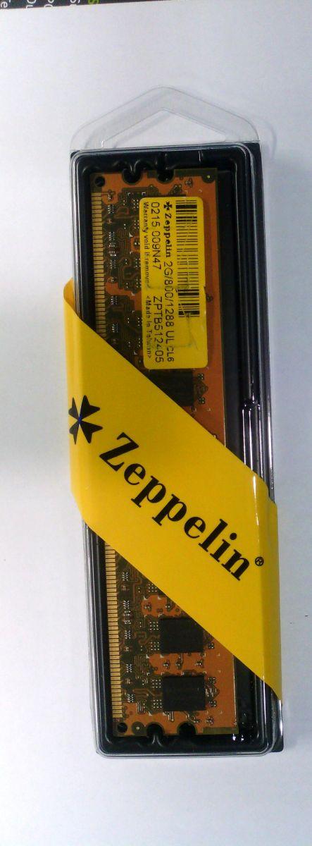 Zeppelin 2GB (1x2GB) DDR2 800MHZ PC6400 CL6