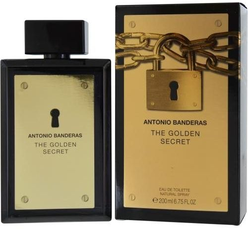 Antonio Banderas The Golden Secret For Men- Eau de Toilette ,200ml