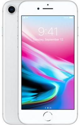 Apple Iphone 8 Without Facetime - 64 GB, 4G LTE, Silver, 2 GB Ram, Single Sim