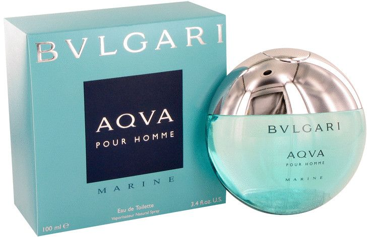 Aqua Marine by Bvlgari for Men - Eau de Toilette, 100ml