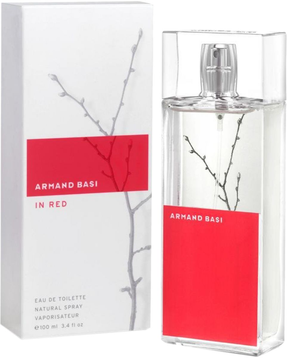 Armand Basi In Red For Women 100ml - Eau de Toilette