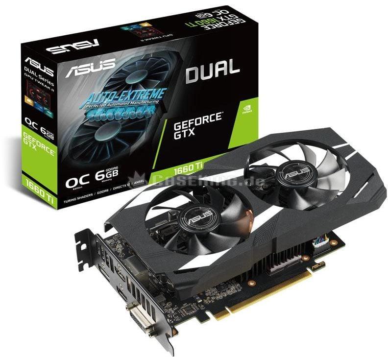 ASUS DUAL GeForce GTX 1660 TI 6GB OC Edition Gaming 90YV0CT2-M0NA00