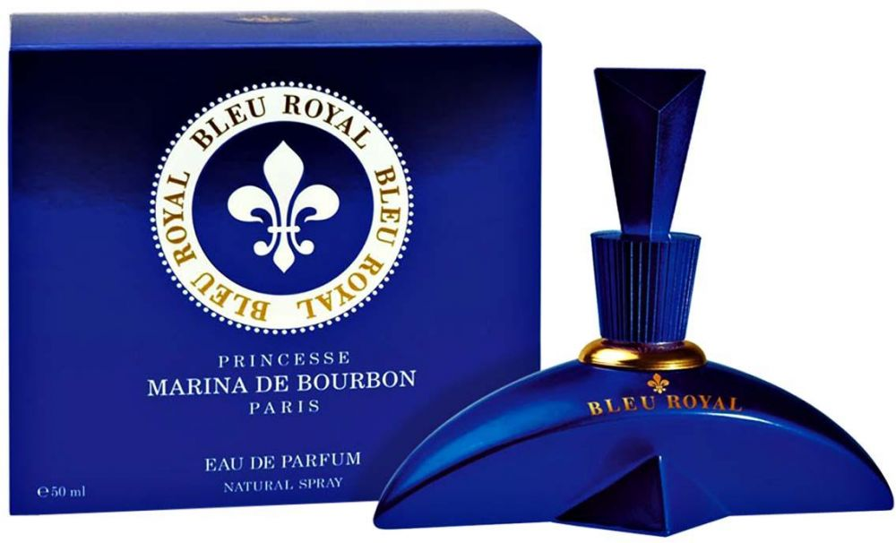 Bleu Royal by Princesse Marina De Bourbon for Women - Eau de Parfum, 50ml
