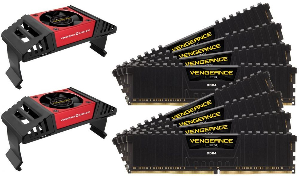 Corsair Vengeance LPX 128GB (8x16GB) DDR4 3800 (PC4-30400) C19 Desktop memory for Intel X299 PC memory (CMK128GX4M8X3800C19)