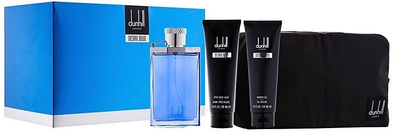 Desire Blue by Alfred Dunhill 4 Piece Gift Set - Eau de Toilette