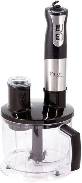 Emjoi Power Hand Blender with Food Processor , 700 W , Black - UEHB-328