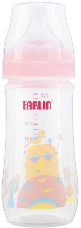 Farlin Silky PP Little Art Feeding Bottle, 270 ml