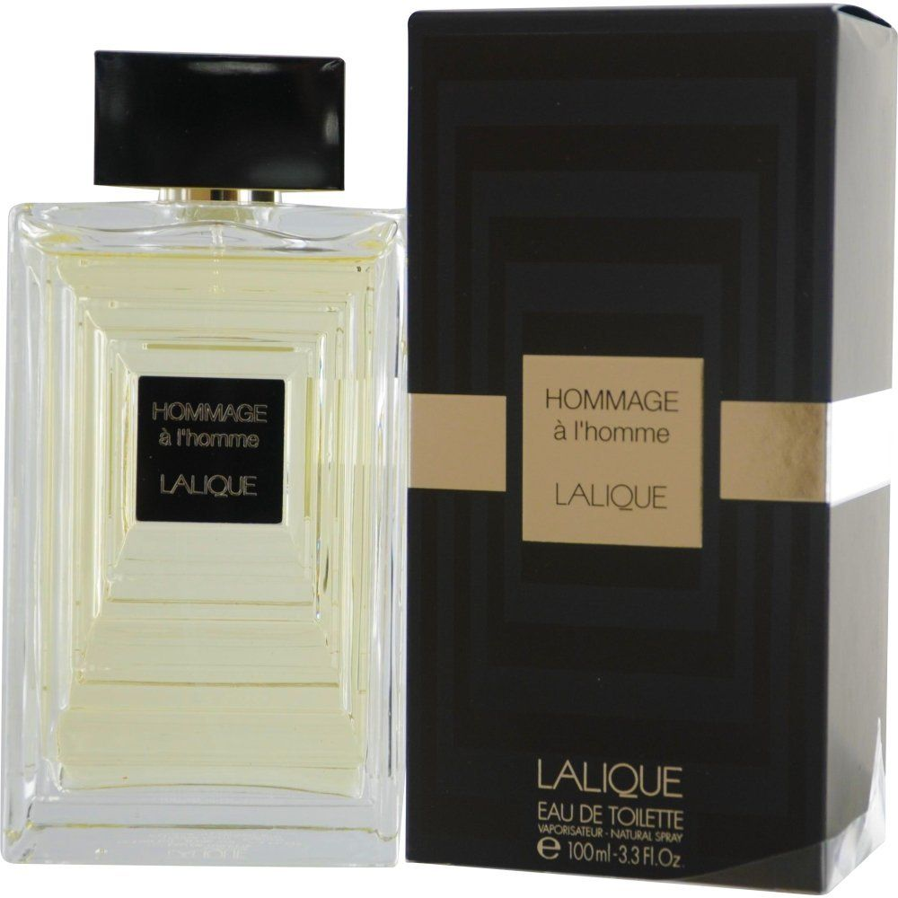 Lalique Hommage a lHomme for Men -Eau de Toilette, 100 ml
