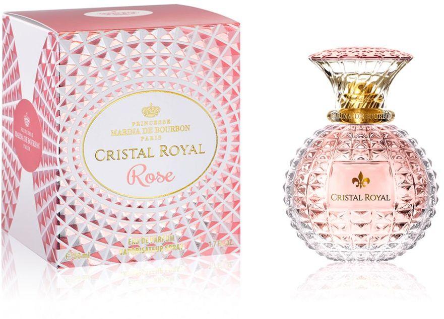 Marina de Bourbon Cristal Royal Rose For Women 100ml - Eau de Parfum