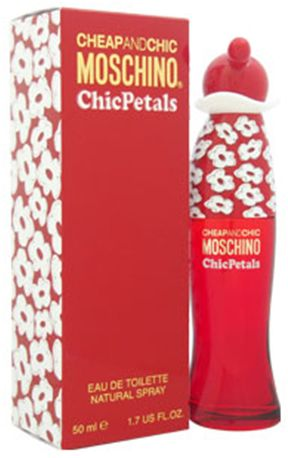 Moschino Cheap And Chic Chic Petals For Women 50ml - Eau de Toilette