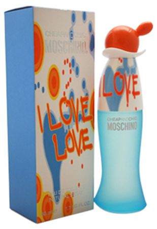 Moschino I Love Love Cheap and Chic For Women 50ml - Eau de Toilette