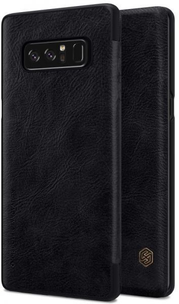 Nillkin Samsung Galaxy Note 8 Case, Wallet Leather Black