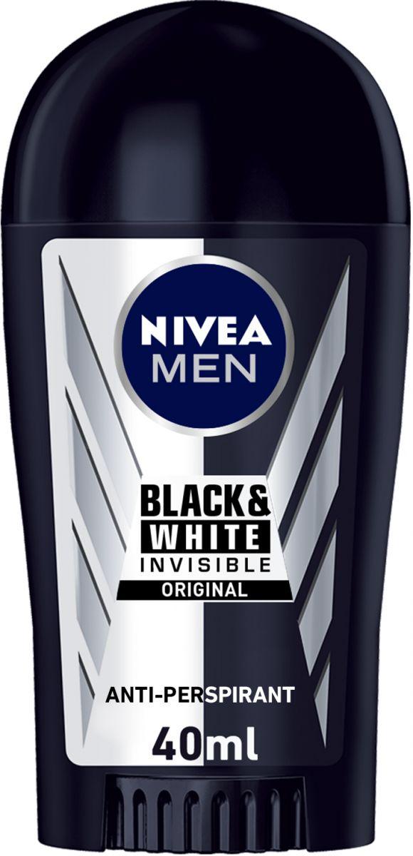 Nivea Black & White Deodorant Stick for Men 40ml