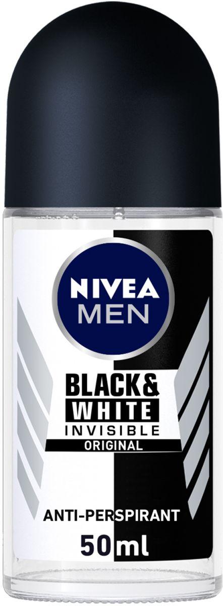 Nivea Roll-On Black and White Power for Men 50ml