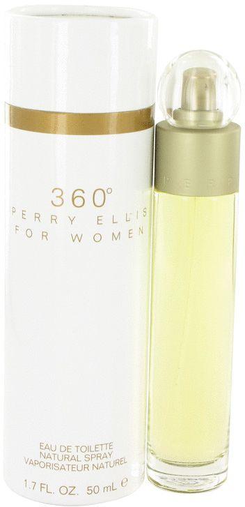 Perry Ellis 360 by Perry Ellis for Women - Eau de Toilette, 50ml