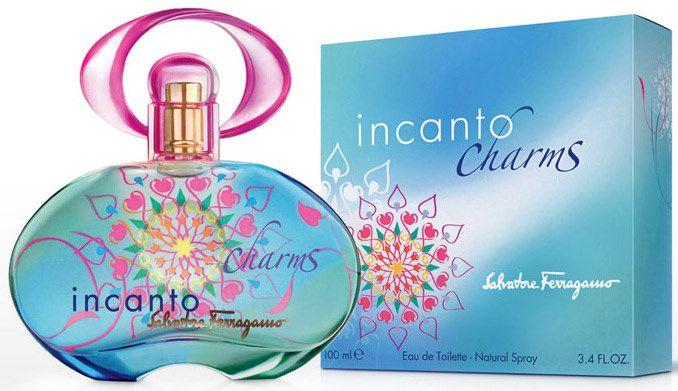 Salvatore Ferragamo Incanto Charms For Women -Eau De Toilette, 100 ml