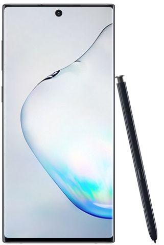 Samsung Galaxy Note 10 Dual SIM - 256GB, 8GB RAM, 4G LTE, Aura Black