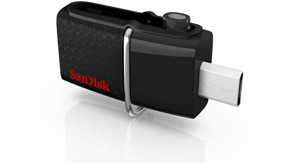 SanDisk 64GB Ultra Dual USB Drive 3.0 - SDDD2-064G-GAM46