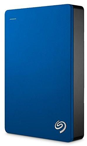 Seagate Backup Plus 5TB Portable External Hard Drive USB 3.0, Blue (STDR5000102)