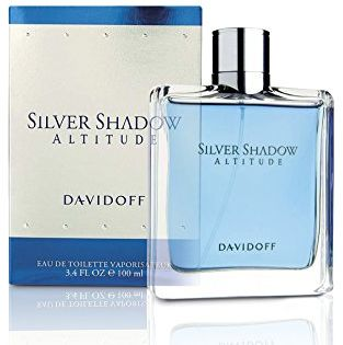Silver Shadow Altitude by Davidoff for Men - Eau de Toilette, 100ml