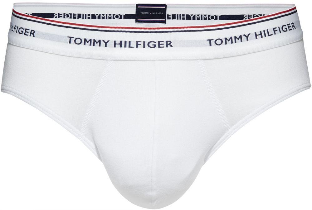 Tommy Hilfiger Briefs for Men - White, Pack Of 3, 1U87903766100, L