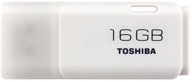 Toshiba USB Sticks 2.0 TransMemory, White [THNU16HAY(BL5)]