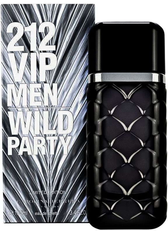 212 VIP Wild Party by Carolina Herrera for Men - Eau de Toilette, 100ML