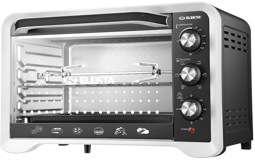 اليكتا 35 لتر فرن كهربائي مع شواية - EBRO-534 (A)