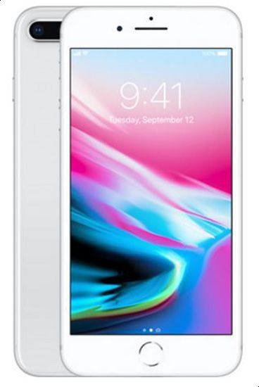 Apple iPhone 8 Plus without FaceTime - 64GB, 4G LTE, Silver