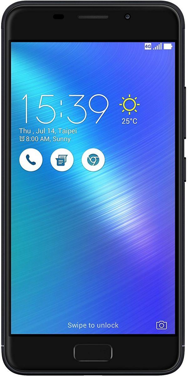 Asus Zenfone 3S Max Zc521Tl Dual Sim - 32 GB, 3 GB Ram, 4G LTE, Black