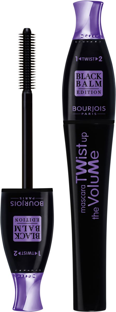 Bourjois Twist Up The Volume Black Balm Mascara 22 Black Balm 8 ml - 0.27Fl Oz