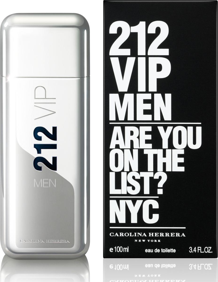 Carolina Herrera 212 VIP Men - Eau de Toilette, 100ml