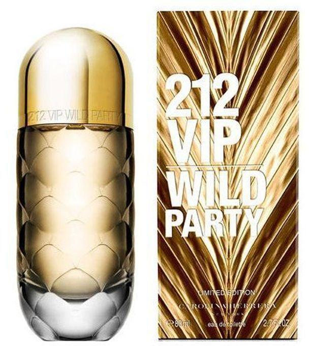 Carolina Herrera 212 VIP Wild Party For Women 80ml - Eau de Toilette