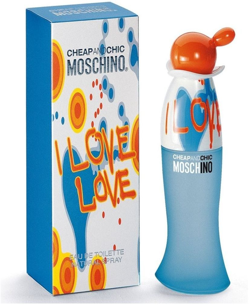 Cheap & Chic I Love Love By Moschino For Women - Eau De Toilette, 100Ml