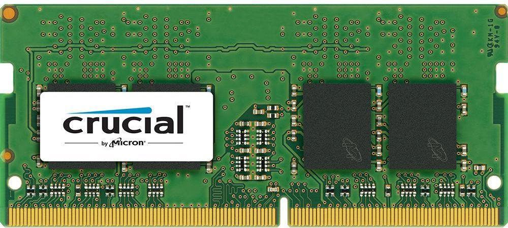 Crucial 8GB DDR4 2400 MT/s (PC4-19200) CL17 SR x8 Unbuffered SODIMM 260pin Single Ranked - CT8G4SFS824A