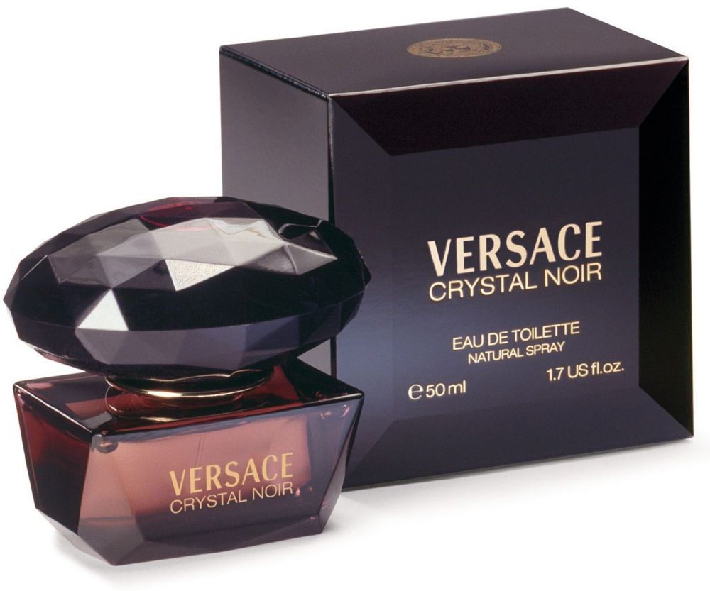 Crystal Noir By Versace For Women - Eau De Toilette, 50Ml