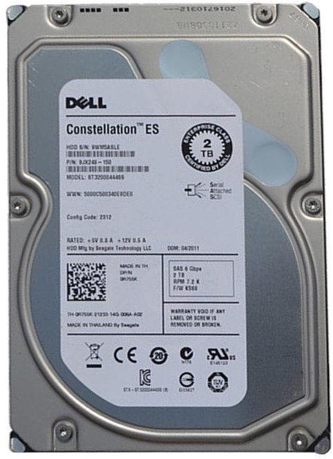 "Dell 2TB 3.5"" NL SAS 6G 7.2K Hot-Plug Hard Drive"