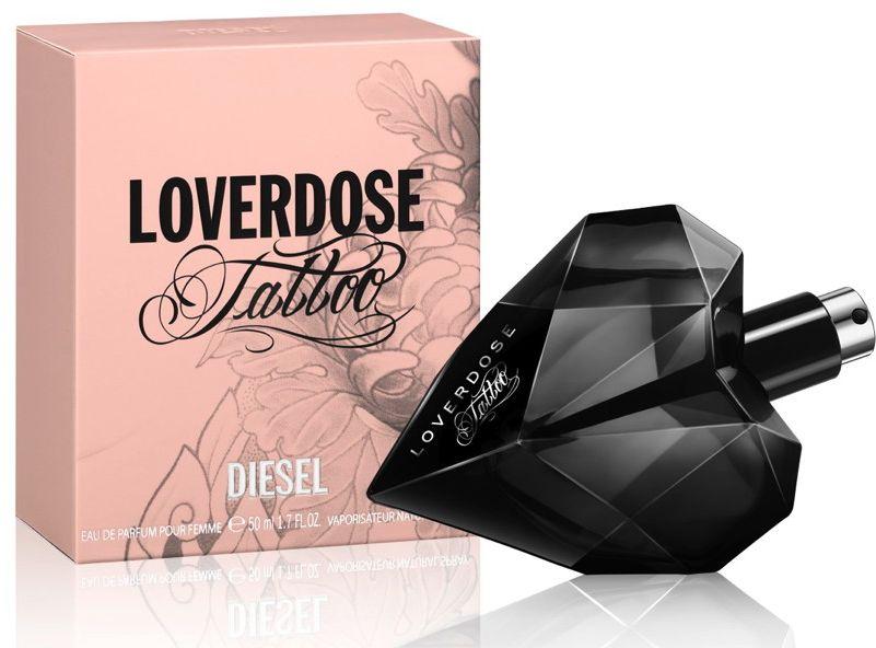 Diesel Loverdose Tatto For Women - Eau De, 50 ml -