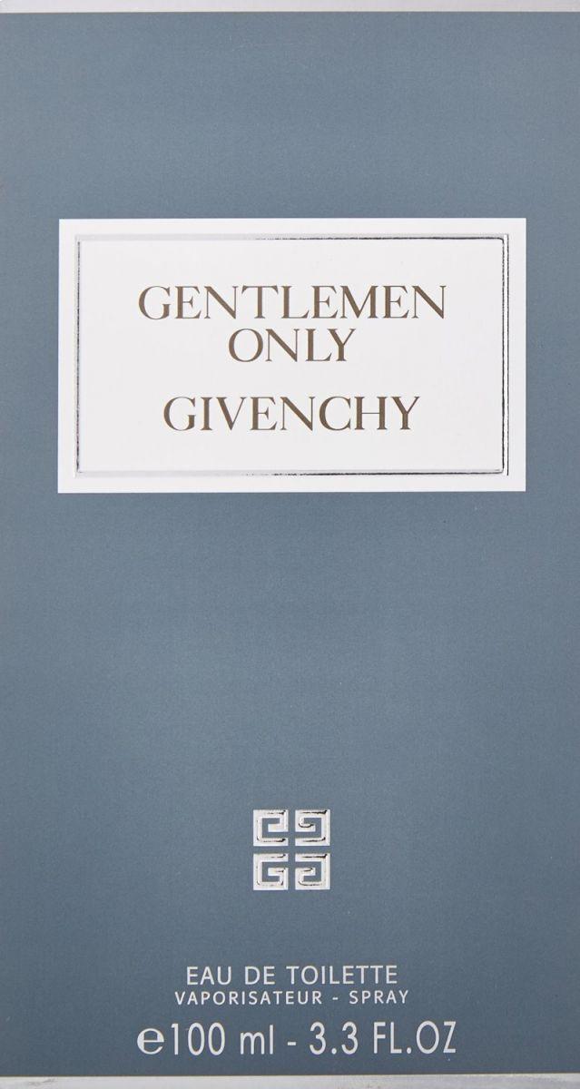 Gentlemen Only by Givenchy for Men - Eau de Toilette, 100ml
